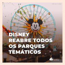 Parques da Disney reabrem pela primeira vez após 17 meses