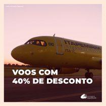 ITA Transportes Aéreos divulga promoção especial de Dia dos Namorados