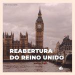 Reino Unido vai receber viajantes vacinados do Brasil sem necessidade de quarentena